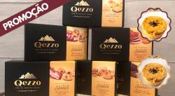 Promoção! Kit Qezzo 6 sabores + Brinde (1 Torta de Frango e 1 Torta de Palmito)